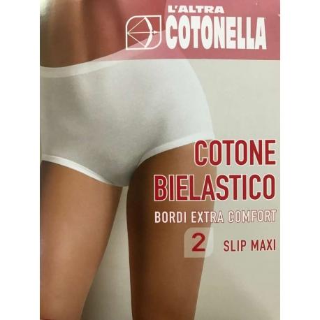 COTONELLA MUTANDA ALTA DONNA confezione da 6PZ